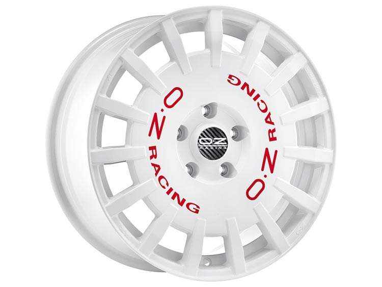 llanta oz racing race white