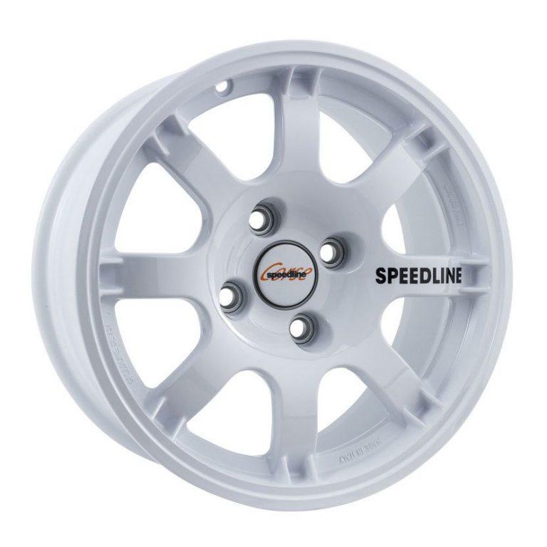 llanta speedline corse sl434 white