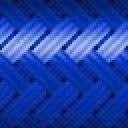 Azul Transparente